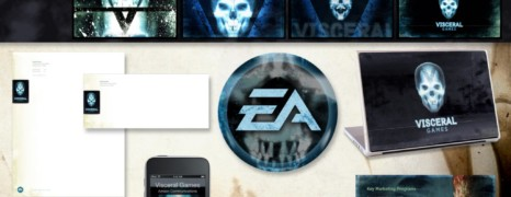 VISCERAL GAMES > BRAND IDENTITY PACKAGE